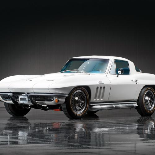 1966 Corvette Sting Ray L72 427 fonds d