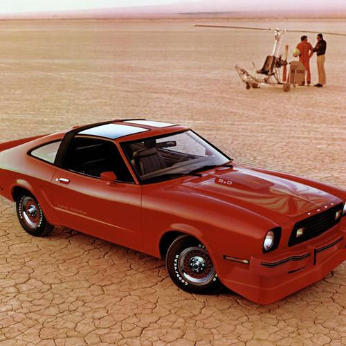 1978 Ford Mustang King Cobra T-roof wallpaper