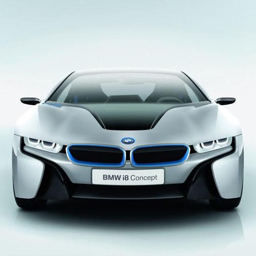 Download 2012 BMW i8 Concept High quality wallpaper