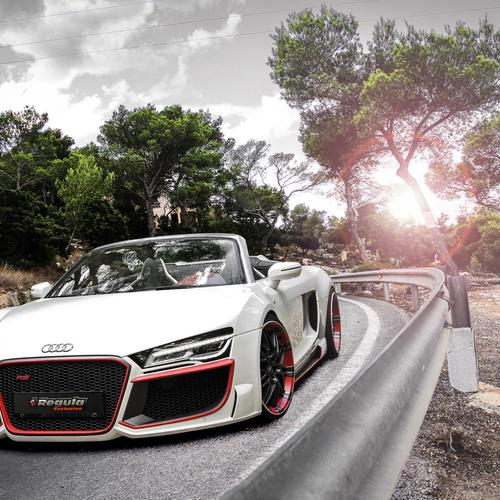 2014 Audi R8 V10 Spyder Regula Tuning wallpaper