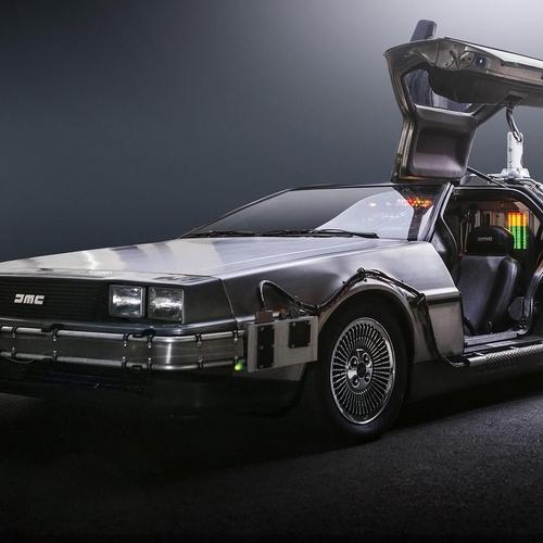 2014 DeLorean Time Machine Team TimeCar taustakuvat