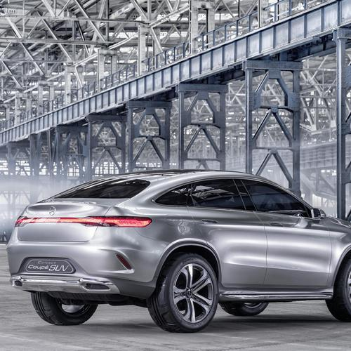 2014 Mercedes Benz Concept Coupe SUV 4 wallpaper