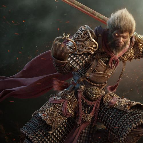 3D Wukong the monkey king wallpaper