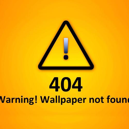 404 not found warning wallpaper