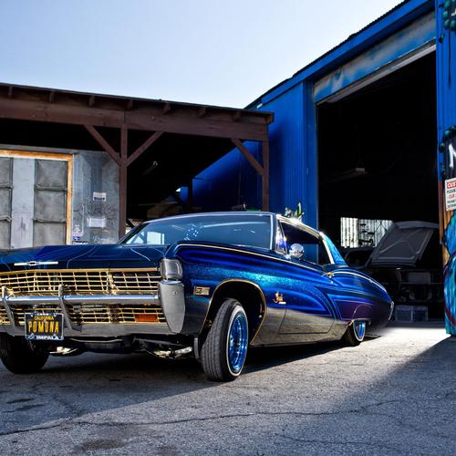 68 Impala lowrider wallpaper
