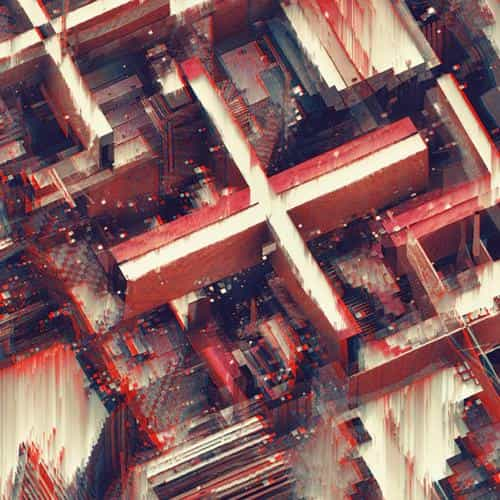 abstract art line red digital atelier olschinsky pattern background