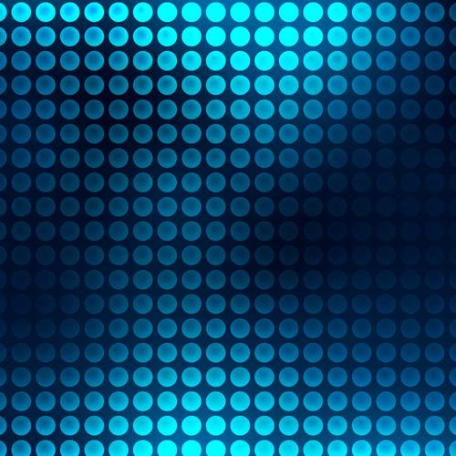 Abstract blue dots wallpaper