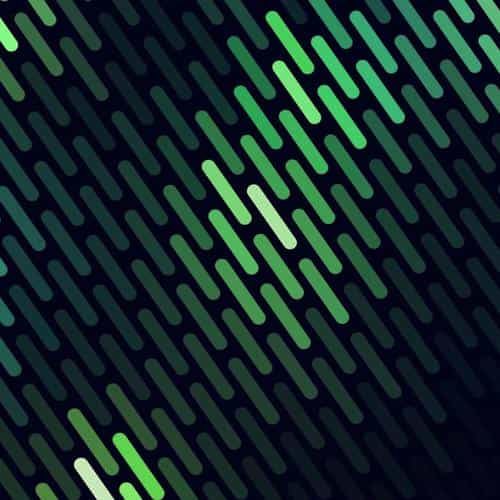 abstract green dots lines pattern