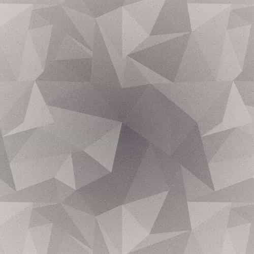 abstract polygon white bw pattern