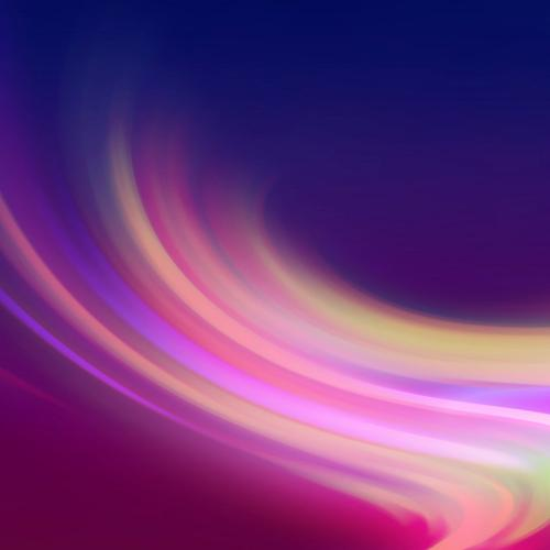 Abstract purple and pink waves
