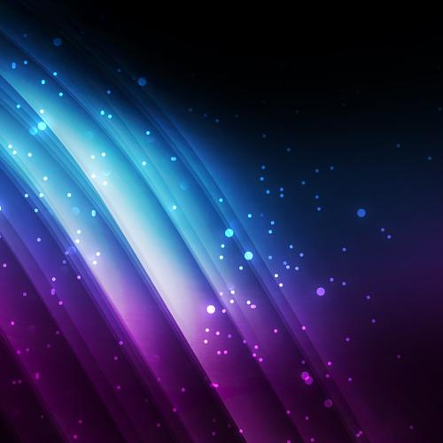 Abstract purple lights