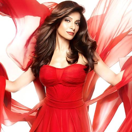 Actress Bipasha Basu in Red wallpaper