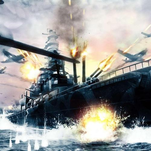Aircraft War Battleship wallpaper