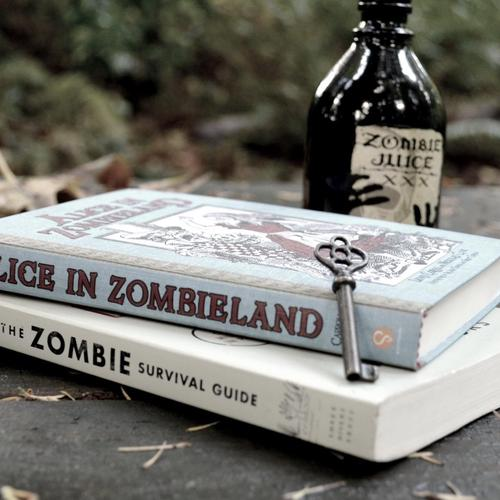 Alice in Zombieland book wallpaper
