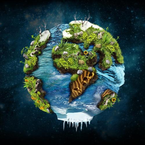 Amazing 3D earth wallpaper