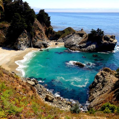 Amazing Big Sur McWay falls,CA wallpaper