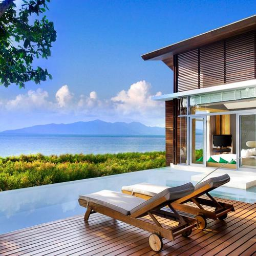 Amazing lodge seaview in Thailand wallpaper