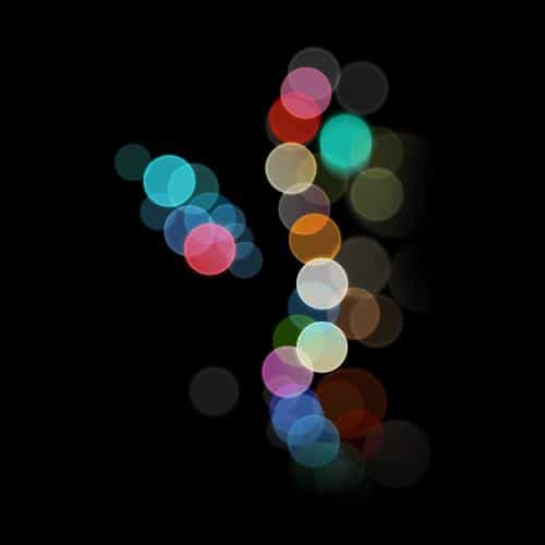 apple bokeh iphone7 dark art illustration