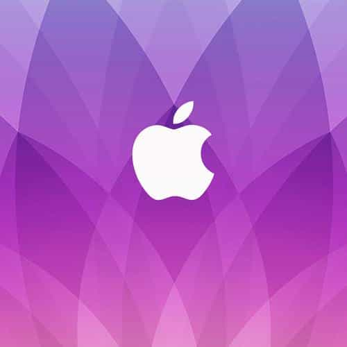 apple event march 2015 purple pattern art