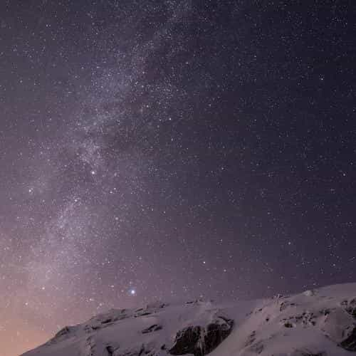 Apple Ios8 Iphone6 Plus Official Starry Night Wallpaperlist