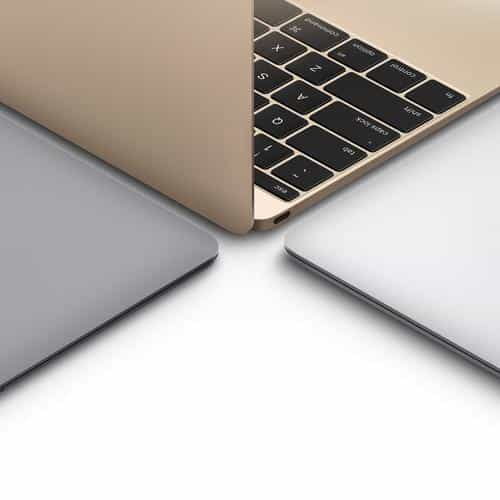 apple macbook gold silver slate gray art