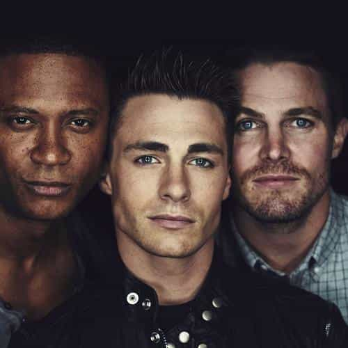 arrow crew tv series celebrity actors