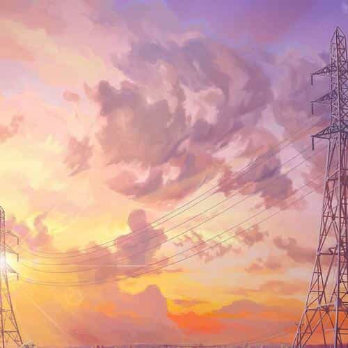arseniy chebynkin sunset illustration art