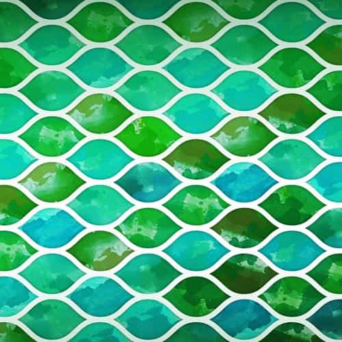 art green watercolor pattern