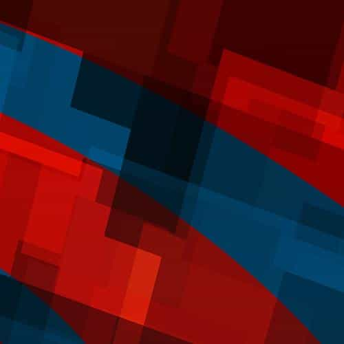 art red blue block angle abstract pattern