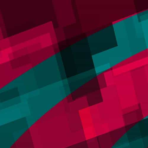 art red green block angle abstract pattern