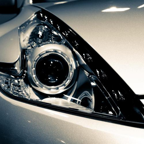 Artificial Eye on car wallpaper