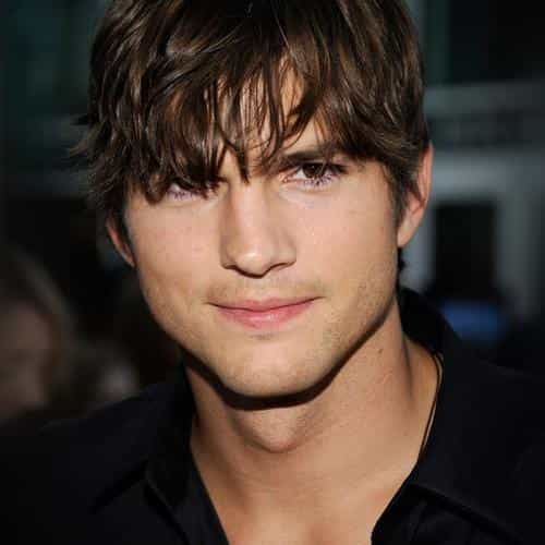 ashton kutcher handsome hollywood actor film celebrity