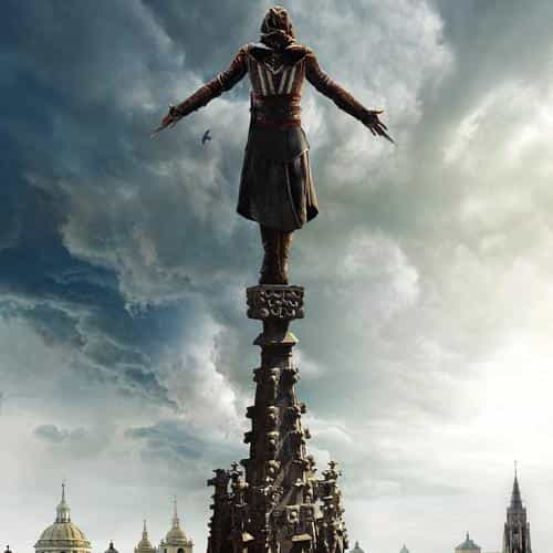 assasins creed film poster illustration art hero