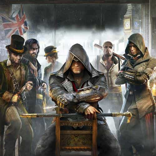 assasins creed game art illust
