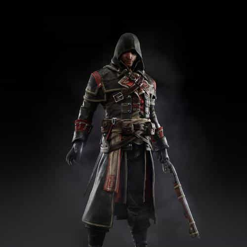 assassins creed rogue game art dark shay hood