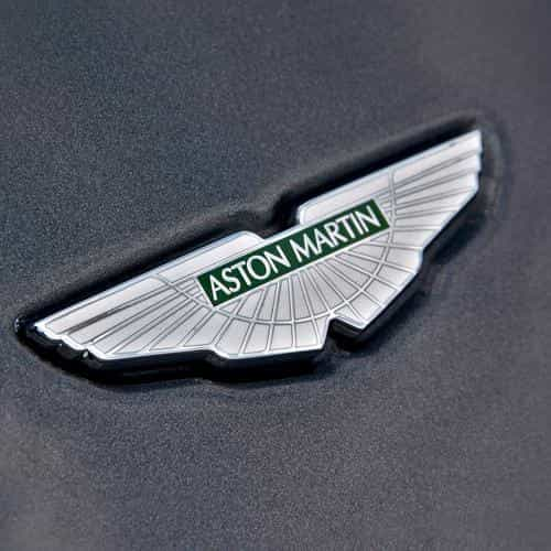 aston martin logo car