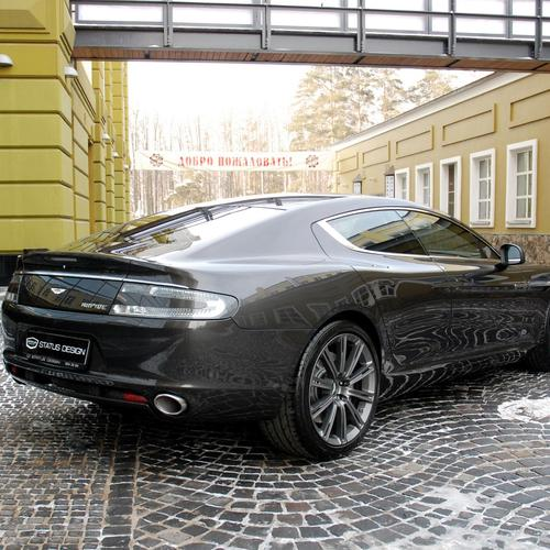 Aston martin rapide 2011 black wallpaper