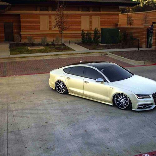 Audi A7 Vossen Wheels Car Tuning behang