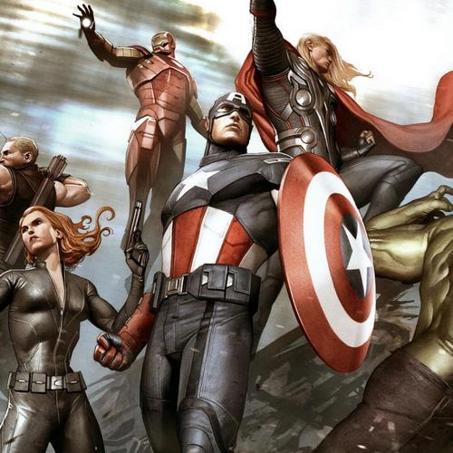 Download Avengers superhelden Hoge kwaliteit behang