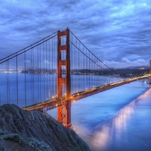 Awesome Golden Gate Bridge Hdr wallpaper