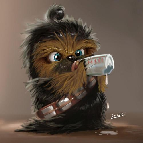 Baby chewie wallpaper