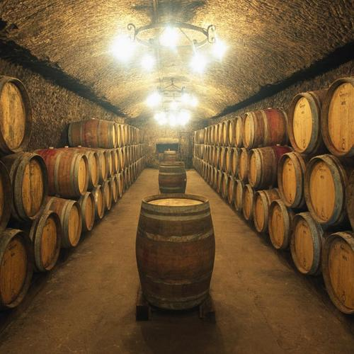 Barrels Of Wine Aging wallpaper