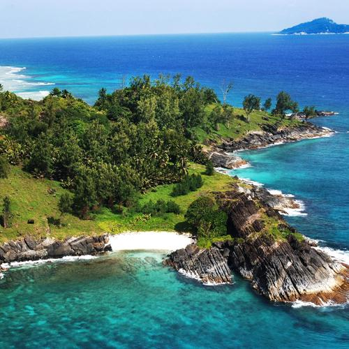 Beautiful point on the Seychelles Island wallpaper