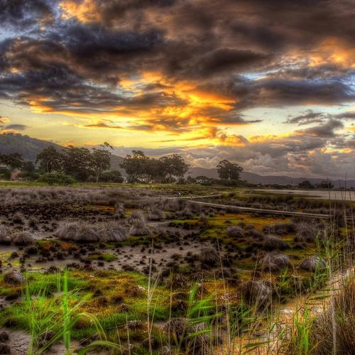 Beautiful Welts landscape Hdr