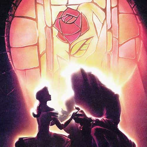beauty and the beast disney art illust