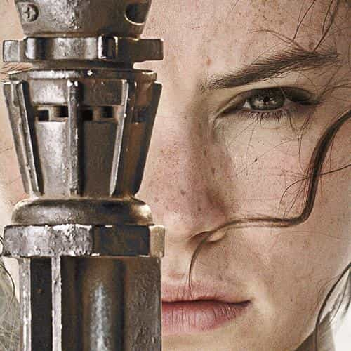 beauty starwars poster art face film