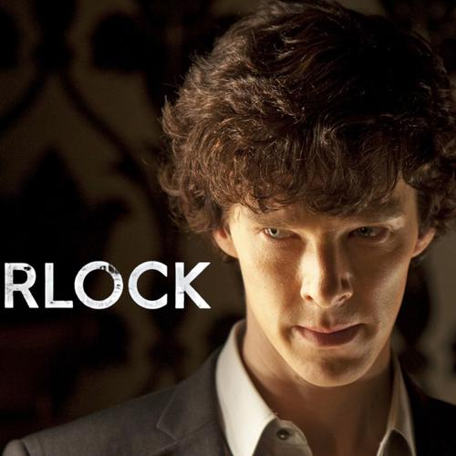 Benedict Cumberbatch in Sherlock TV series wallpaper