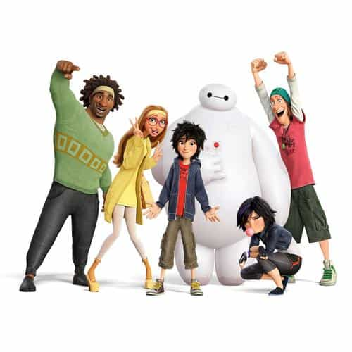 big hero 6 chracters all disney art illust