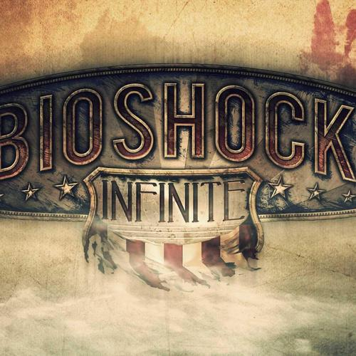 Bioshock Infinite logo behang