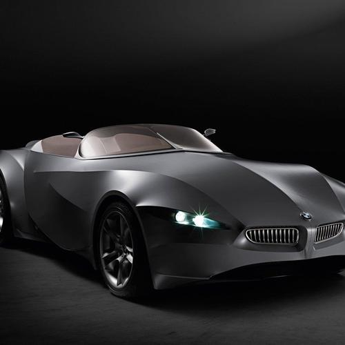 Black Bmw prototype concept